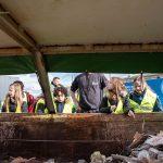 GAD Rondleiding Regenboogschool puincontainer